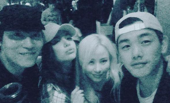 John Park, Ailee, Eric Nam y Jo Hyun Ah de Urban Zakapa tienen una divertida reunión