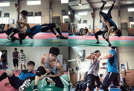 """Ji Chang Wook entrena en el gimnasio para sus escenas de acción en """"K2"""""""
