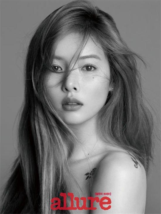 """HyunA habla sobre la perspectiva de hacer algo distinto al canto en entrevista para """"Allure"""""""