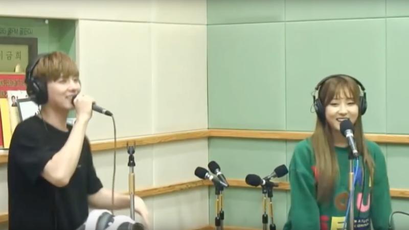 Kihyun de MONSTA X y Seungyeon de CLC hacen una linda interpretación en radio de una canción de Lee Hyori