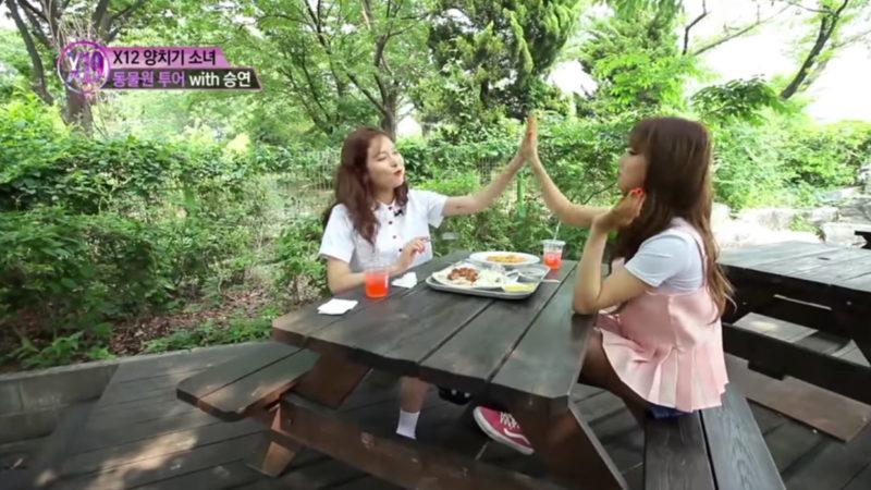 HyunA comparte su sabiduría con Seungyeon de CLC