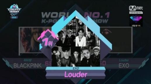 """EXO se lleva su 5ta victoria con """"Lotto"""" en """"M!Countdown""""; presentaciones de I.O.I, UP10TION y más"""