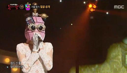 """Integrante de un grupo de chicas realiza un cover de Orange Caramel y revela su identidad en """"King Of Masked Singer"""""""