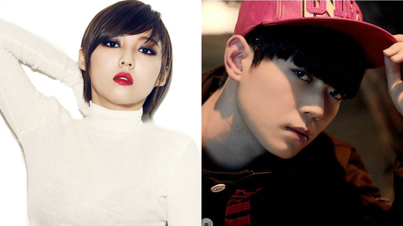 "Min de miss A y Bitto de UP10TION se unen a ""Hit The Stage"""