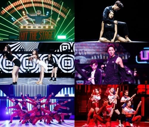 """Nicole, Bora, Mijoo y Shownu realizan sus presentaciones de baile en """"Hit The Stage"""""""