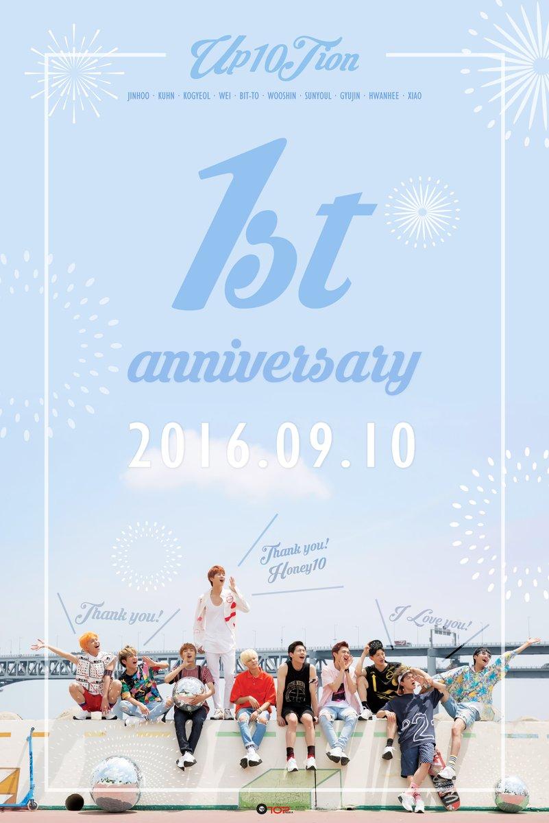 ¡UP10TION celebra su 1er aniversario de debut!