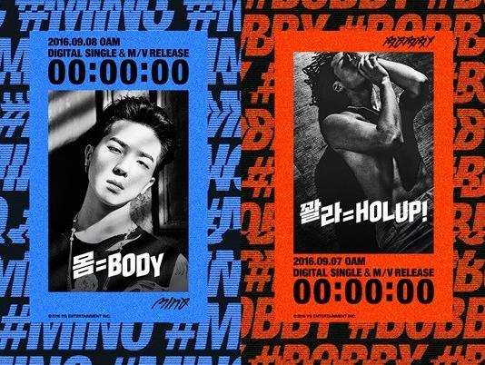 """Mino de WINNER y Bobby de iKON comparten sus pensamientos sobre aparecer como unidad en """"Inkigayo"""""""