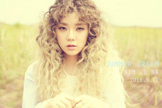 "Kim Joo Na de ""Produce 101"" debuta con su video musical ""Summer Dream"""