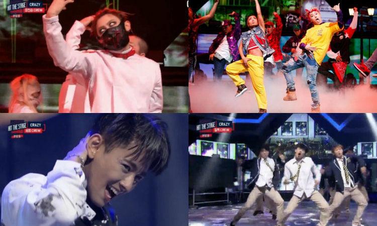 """Jang Hyunseung, U-Kwon, Seyong y Feeldog compiten por conseguir el título de la presentación más alocada en """"Hit The Stage"""""""