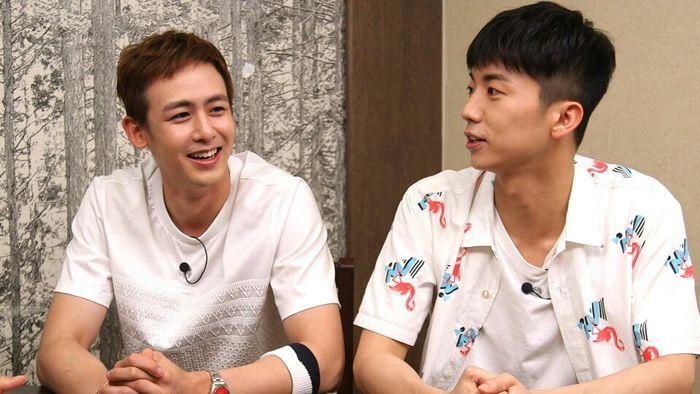Wooyoung explica por qué Nichkhun es com la mamá de 2PM