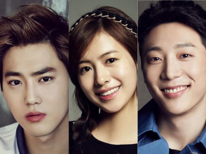 Ji Woo y Shin Hyun Soo se unen a Suho de EXO en nuevo drama