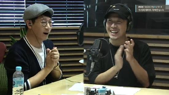 Haha le revela a Ji Suk Jin que cuando era DJ una vez peleó con un oyente
