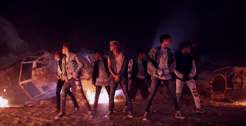 """El vídeo musical de """"Hard Carry"""" de GOT7 fácilmente sobrepasa el millón de vistas"""