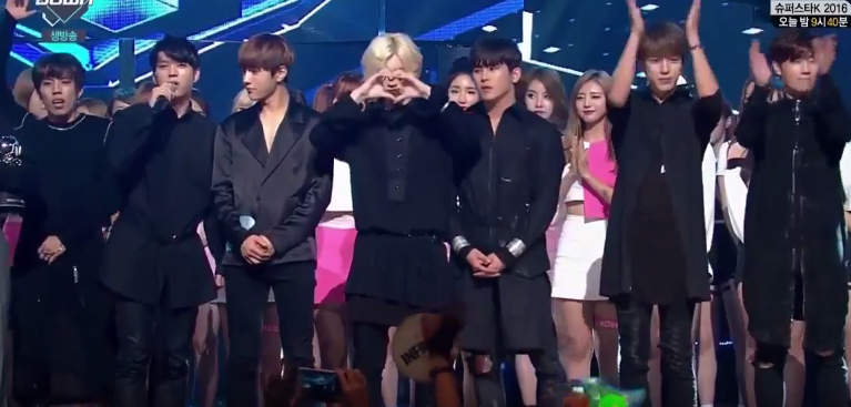 """INFINITE se lleva su 1era victoria con """"The Eye"""" en """"M!Countdown""""; presentaciones de GOT7, APink, Dal Shabet y más"""