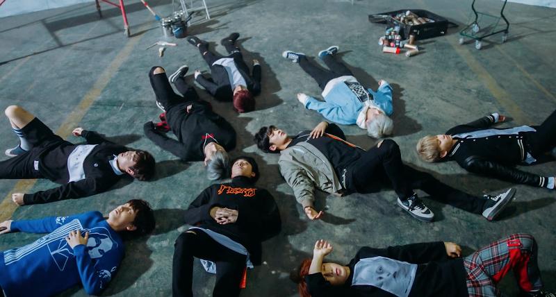 """SF9 se deslumbra en video-teaser para su tema debut """"Fanfare"""""""