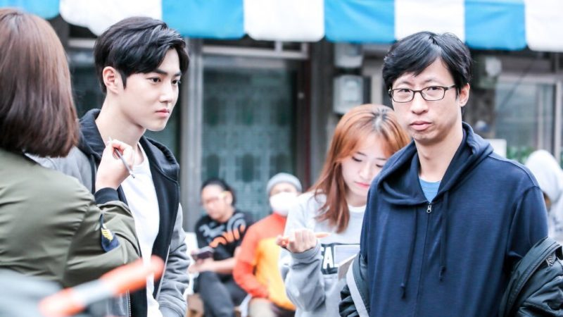 Suho de EXO (Kim Joon Myun) se ve agradable y elegante en filmación de nuevo drama
