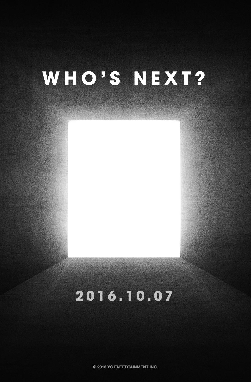 YG libera teaser para su próximo lanzamiento en octubre