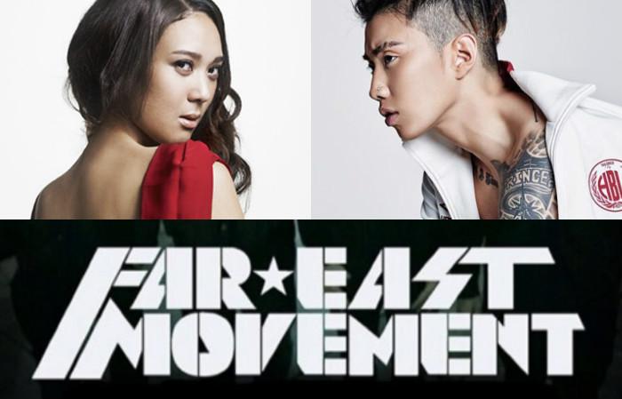 Yoon Mi Rae y Jay Park juntos en una nueva colaboración de Far East Movement