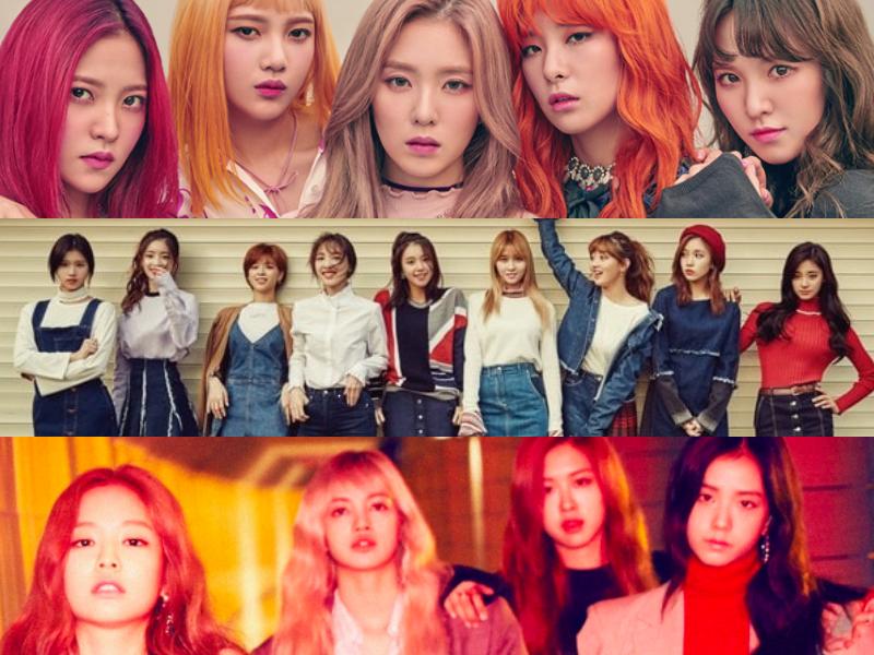 Se revela el ranking de reputación de marca de grupos femeninos para el mes de octubre