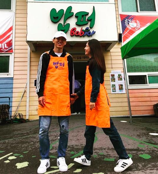 Sean y Jung Hye Young celebran su aniversario de bodas con voluntariado