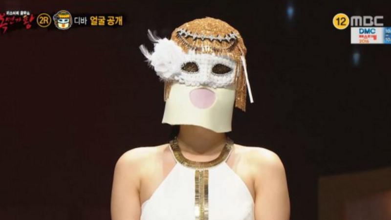 """Esta Idol es una veterana del concepto retro en """"King Of Masked Singer"""""""
