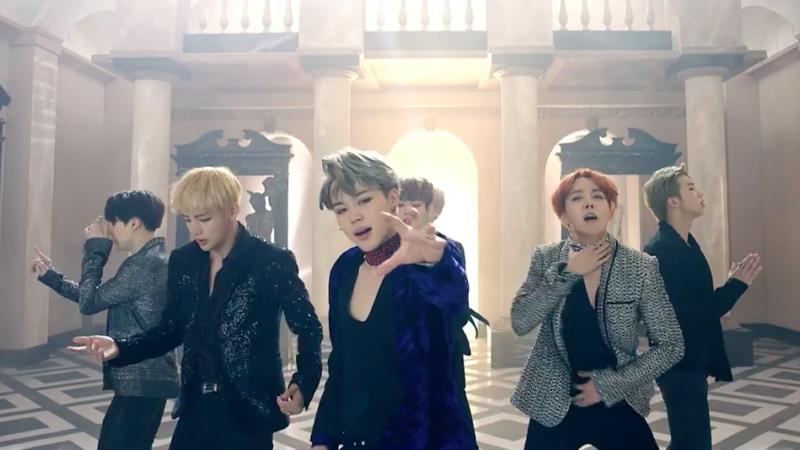 """BTS regresa con un hechizante MV para """"Blood Sweat & Tears"""""""