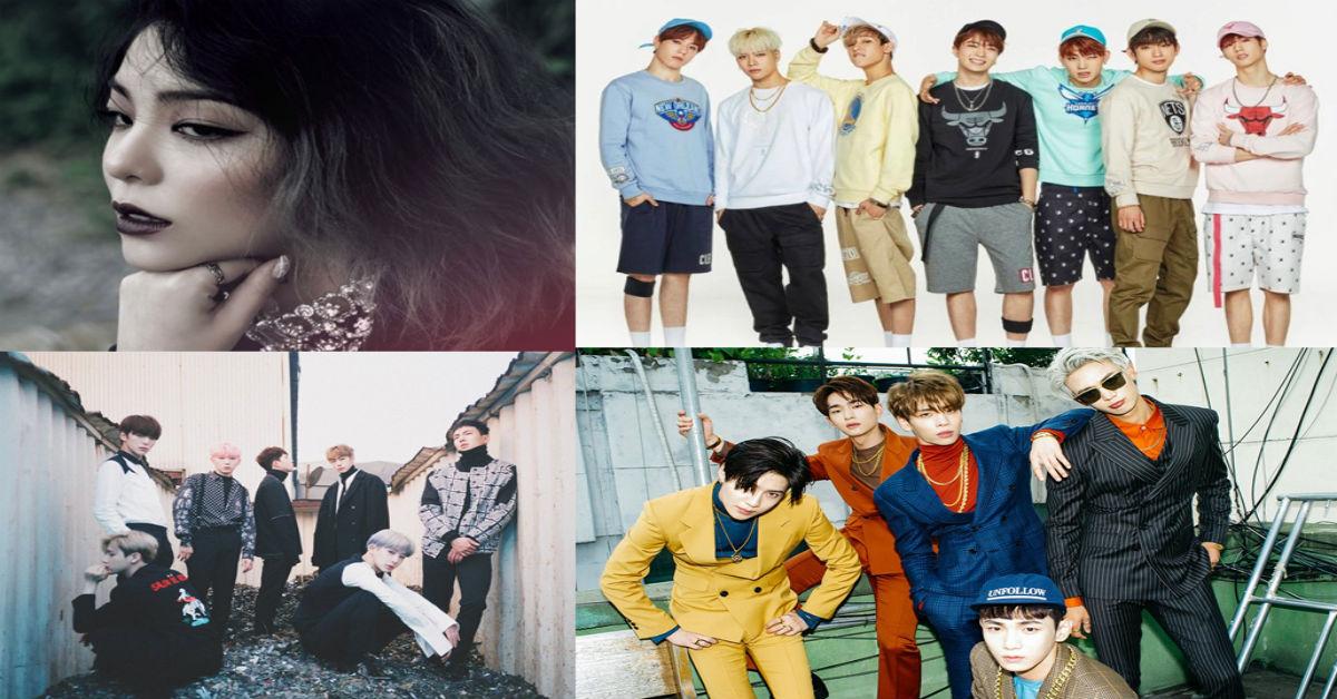 SHINee, MONSTA X, GOT7 y Ailee en la lista de álbumes mundiales de Billboard