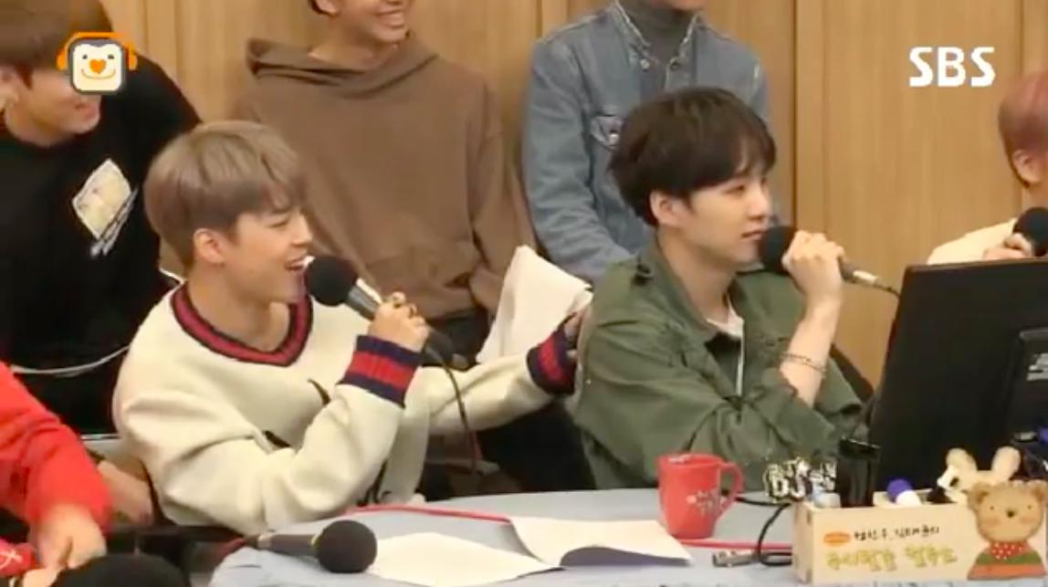 """Jimin de BTS explica el apodo adorablemente apropiado de la infancia de Suga en """"Cultwo Show"""""""