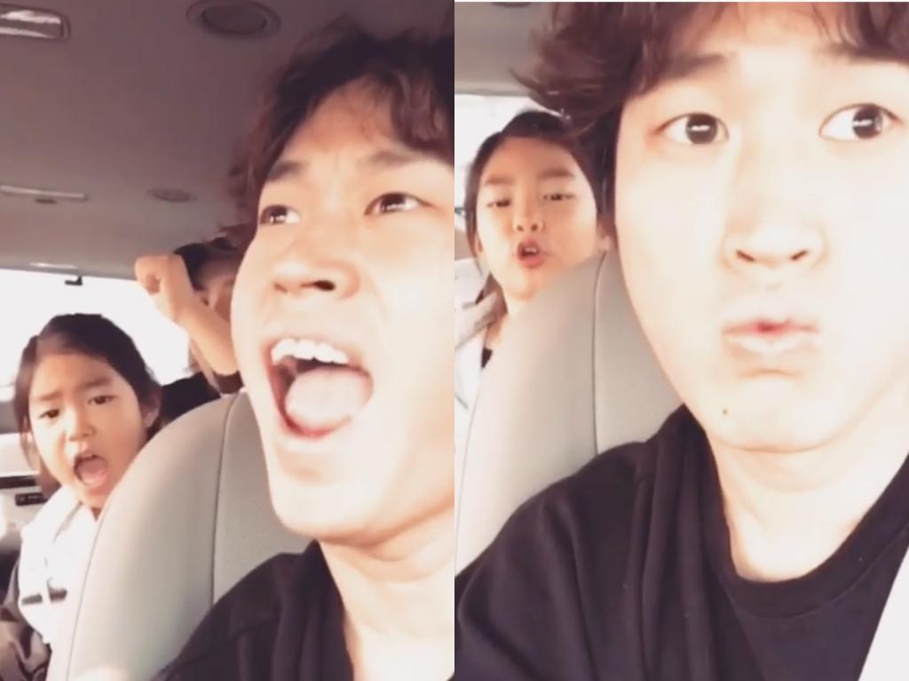 Tablo y Haru se divierten cantando juntos