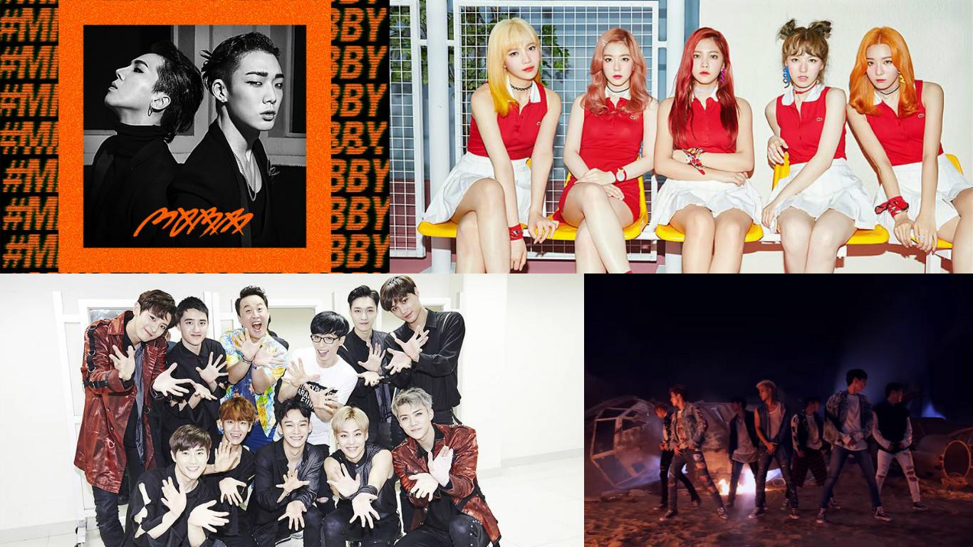 Billboard nombra los videos musicales de K-Pop más vistos en setiembre del 2016