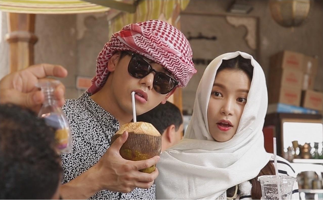 Eric Nam y Solar realizan una escapada romántica a Dubai