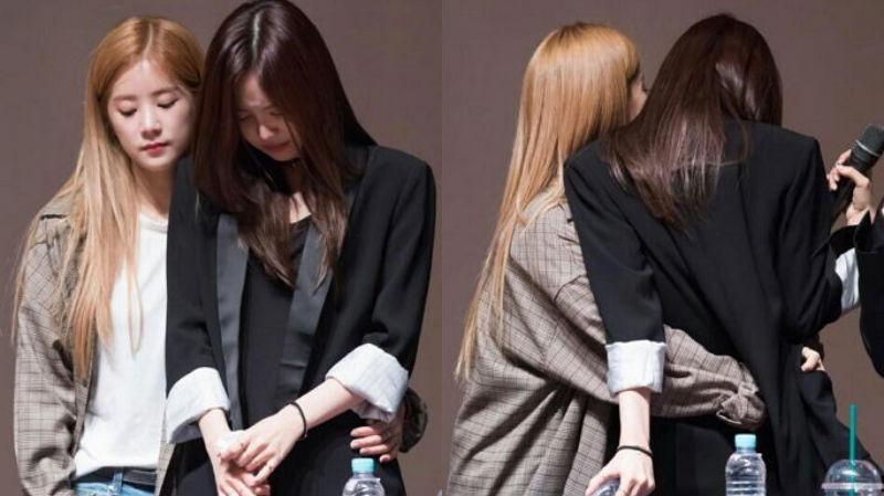 Son Naeun de Apink llora luego de escuchar los gritos alentadores de los fans