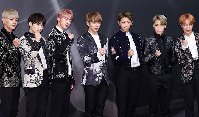 BTS bate récords de K-Pop en clasificación y venta de álbumes en la lista estadounidense Billboard 200