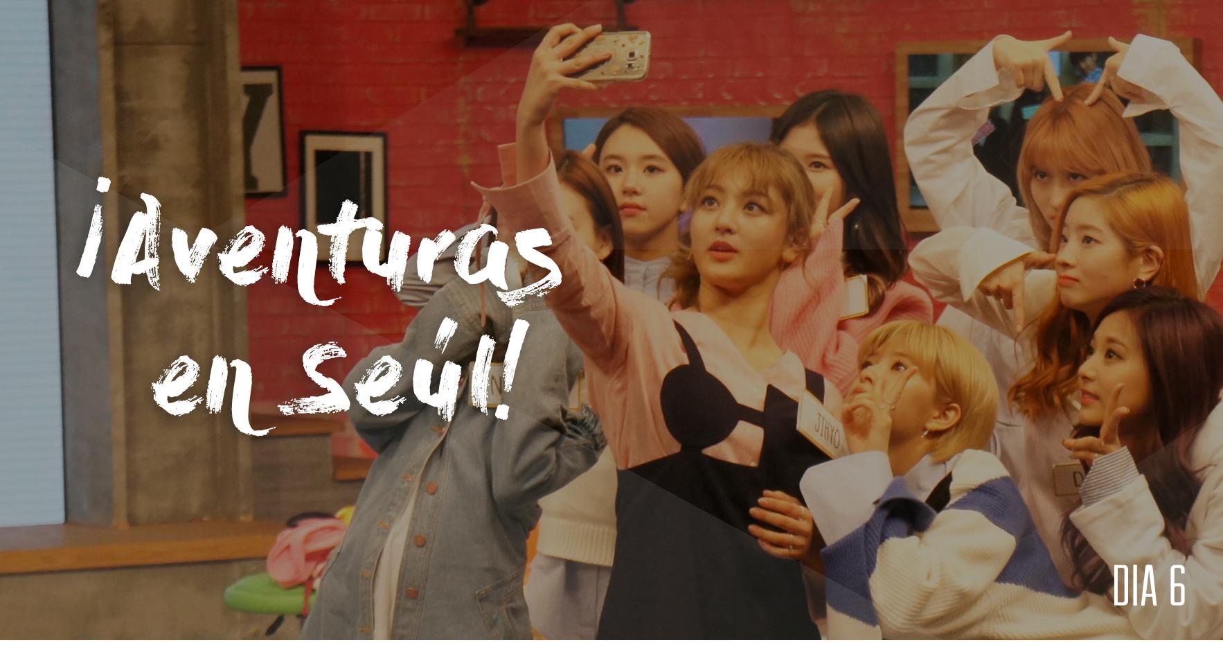 Aventuras en Seúl – Conociendo a TWICE, los conductores de After School Club y CJ Entertainment