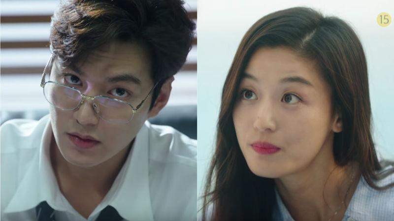 "Lee Min Ho intenta (y falla) ayudar a Jun Ji Hyun a adaptarse en reciente teaser de ""The Legend Of The Blue Sea"""
