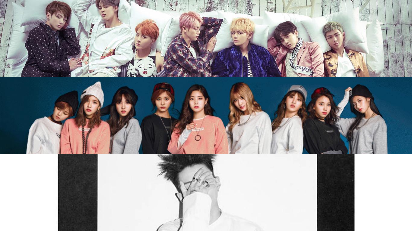 BTS, TWICE y Jay Park ingresan a la lista de álbumes mundiales de Billboard