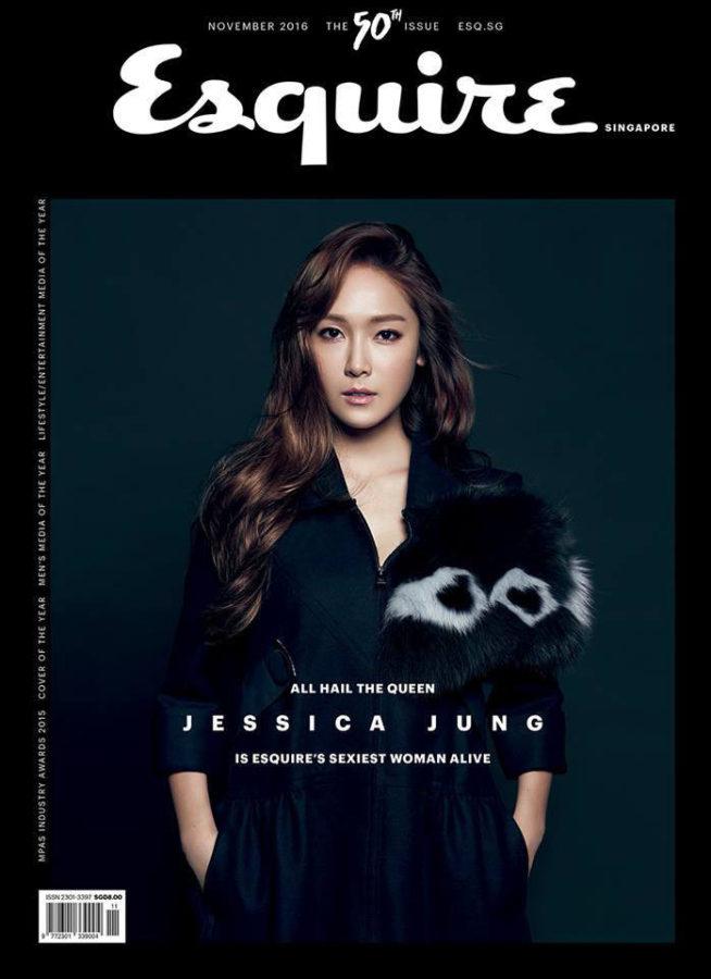 """Jessica es nombrada """"la mujer viva más sexy"""" por Esquire Singapore"""