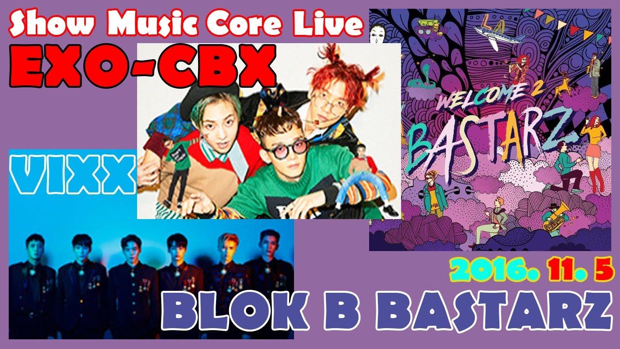 """EXO-CBX, VIXX, BASTARZ, y más, actuan en """"Music Core"""""""