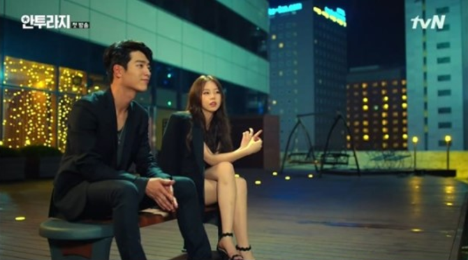 Seo Kang Joon revela cómo ha sido actuar con Ahn Sohee