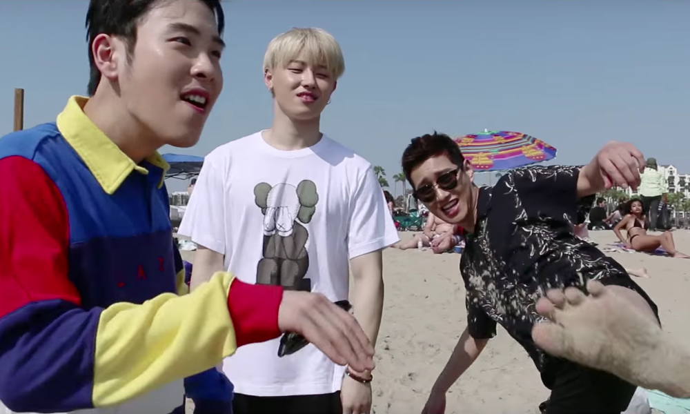 "BASTARZ de Block B se divierte en su video musical ""That's Right"""