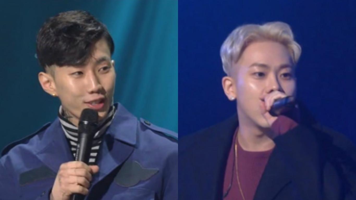 """Jay Park y Loco responden humildemente a preguntas sobre sus buenas acciones en """"Yoo Hee Yeol's Sketchbook"""""""