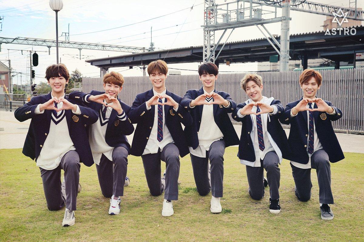Los integrantes de ASTRO son nuestro tipo ideal de instituto en nuevas imágenes teasers