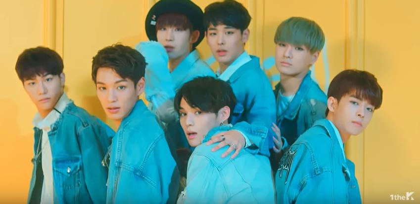 """El nuevo grupo masculino VICTON baila """"Fire"""" de BTS"""