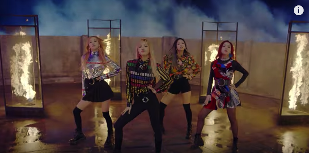 "El video ""Playing With Fire"" de BLACKPINK supera los 20 millones de visitas en YouTube"
