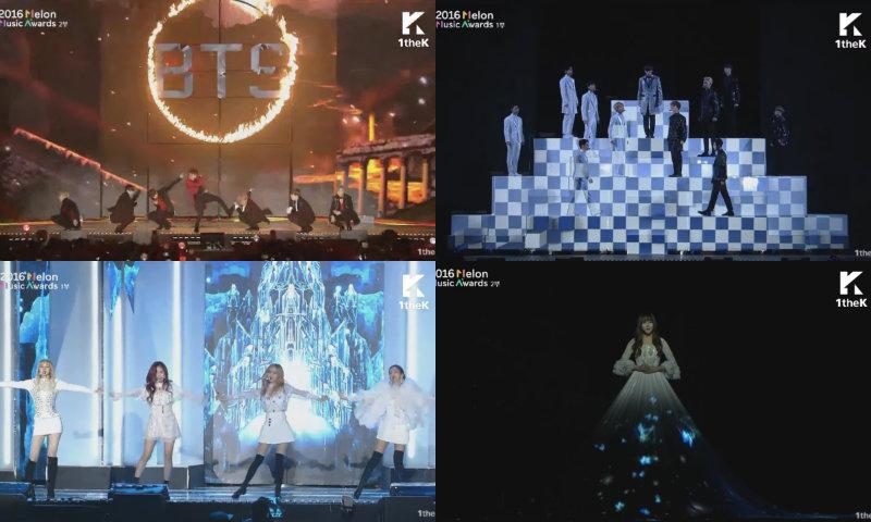 Presentaciones de los 2016 Melon Music Awards