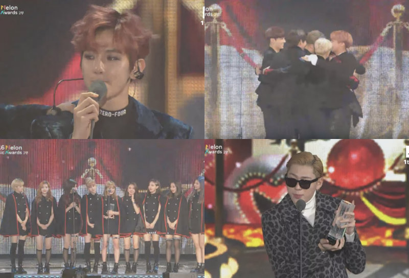 """Los ganadores de los """"2016 Melon Music Awards"""""""
