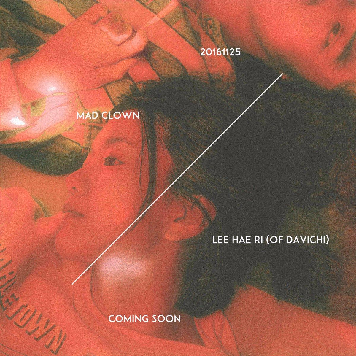Mad Clown lanza teaser para nuevo lanzamiento que cuenta con la participación de Lee Hae Ri de DAVICHI