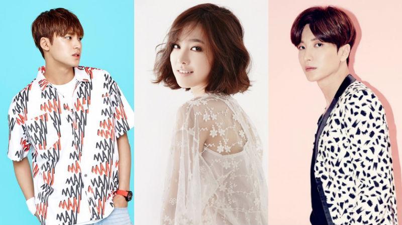 Mingyu de SEVENTEEN, Jin Se Yeon, y Leeteuk presentarán el Super Seoul Dream Concert 2016
