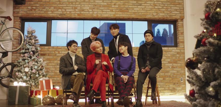 Kihyun de MONSTA X, Hyunseong de Boyfriend, Junggigo y más dan un adelanto de su colaboración por fiestas