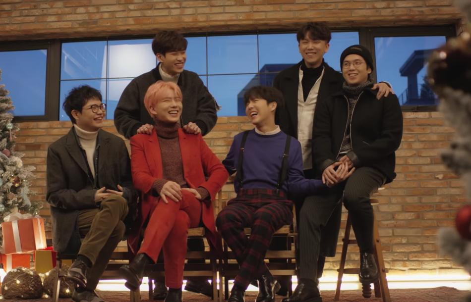 Kihyun de MONSTA X, Hyunseong de BOYFRIEND, Junggigo y más muestran su espíritu festivo en su nueva canción